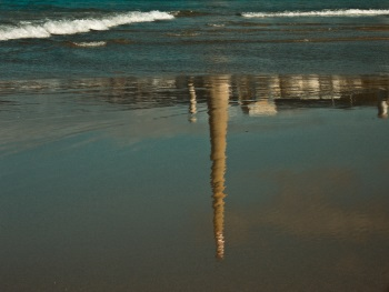 """""""Tu huella en mi playa…"""". Autor:"""