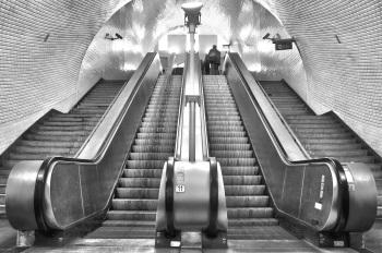 """Metro de Lisboa"". Autor: Johny Santiago Ríos"