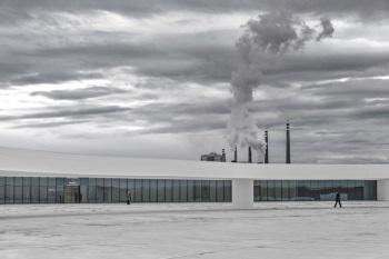 """""""Niemeyer un lugar de encuentro"""" Autor: Pedro Ajuriaguerra Saiz"""
